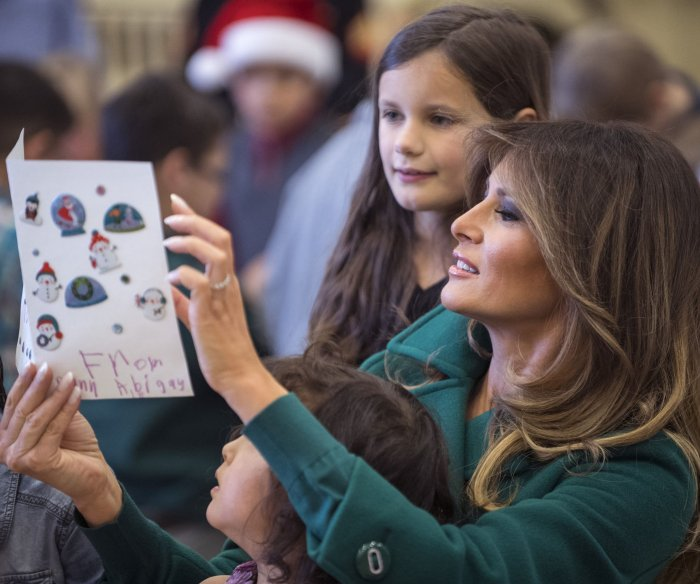 'First family': Moments from President Donald Trump's first year