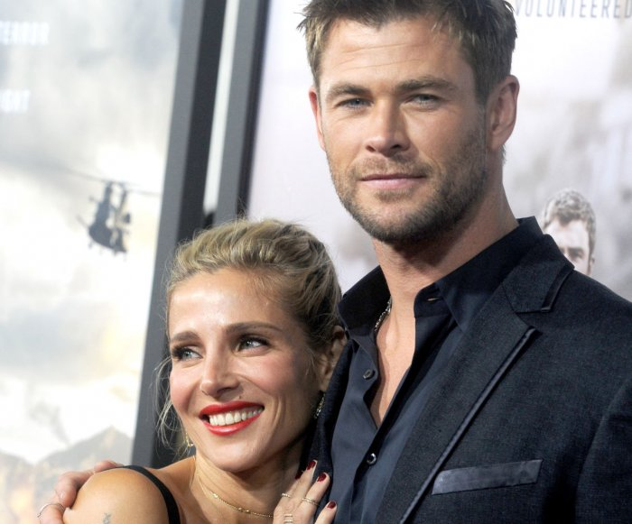 Chris Hemsworth, Matt Damon attend '12 Strong' premiere