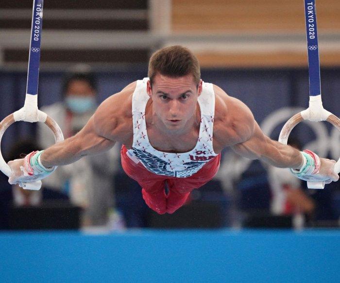 Tokyo Olympics: Moments from men's gymnastics