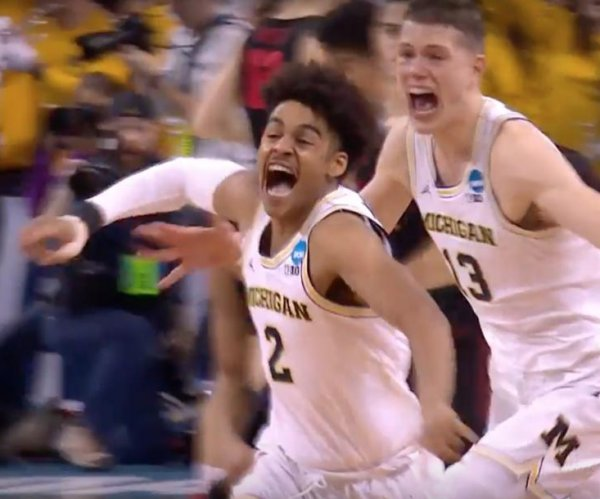 March Madness: Michigan hits buzzer-beater to beat Houston