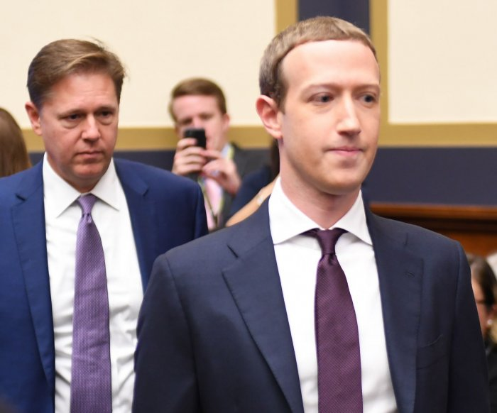 Mark Zuckerberg testifies on Facebook's cryptocurrency
