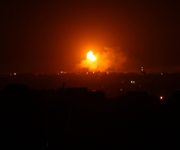 Israel launches airstrike on Gaza Strip; no injuries reported