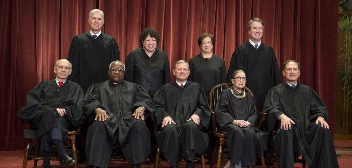 New portraits: U.S. Supreme Court justices