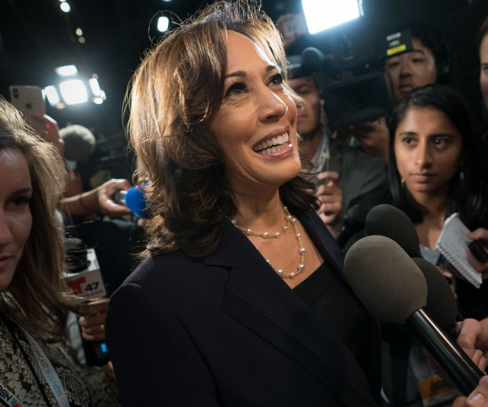 Kamala Harris hailed in political, economic circles as VP nominee