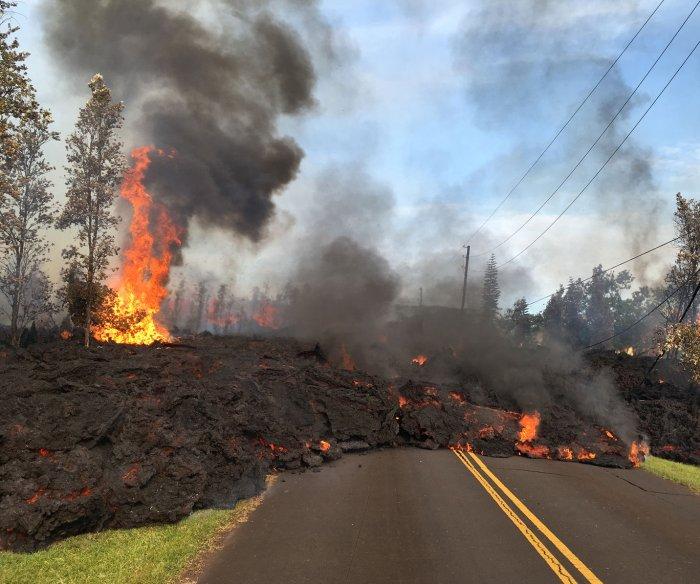 Kilauea eruptions claim first lava-related injury victim