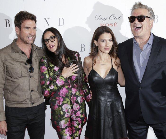 Demi Moore, Alec Baldwin attend 'Blind' premiere in New York