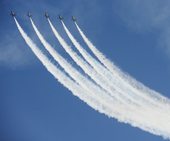 Blue Angels perform in California