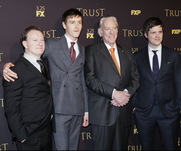 Donald Sutherland, Brendan Fraser attend 'Trust' screening in New York City