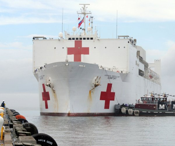 U.S. Navy hospital ship to be sent to Colombia