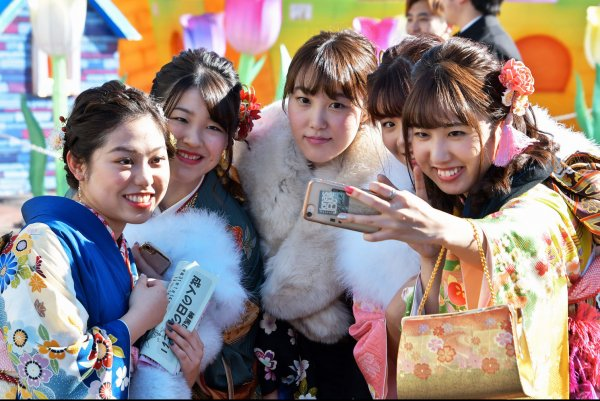 Coming of Age Day celebrations in Tokyo