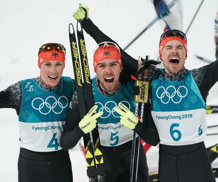 2018 Winter Olympics: Men's skiing medalists