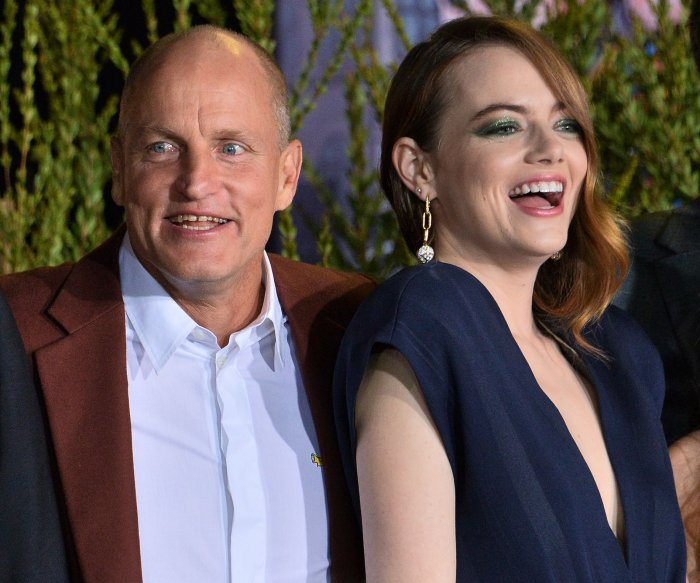 Emma Stone, Woody Harrelson attend 'Zombieland: Double Tap' premiere in LA