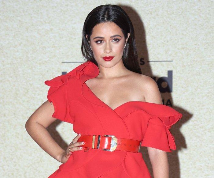 Camila Cabello, Bad Bunny attend the Latin Billboards red carpet