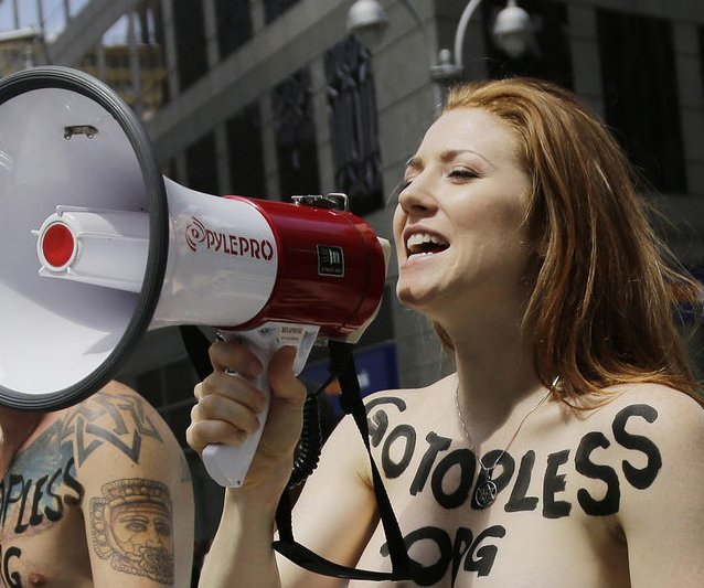 Go Topless Pride Parade [NSFW]