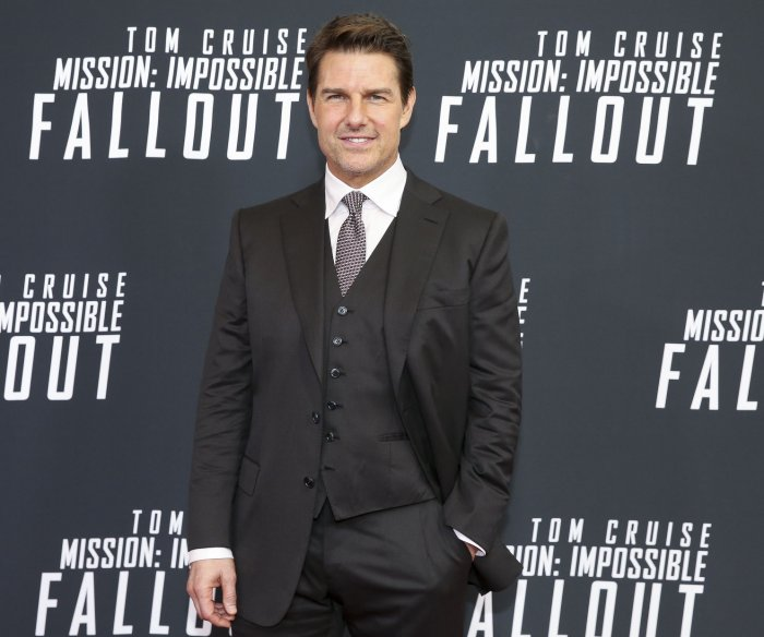 Tom Cruise, Henry Cavill attend the 'Mission Impossible' premiere in Washington, D.C.