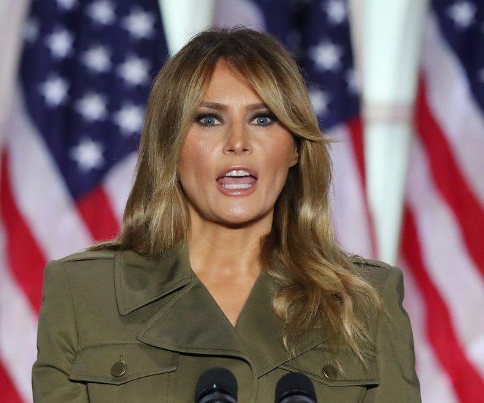 Melania Trump cancels campaign trip due to 'lingering cough'