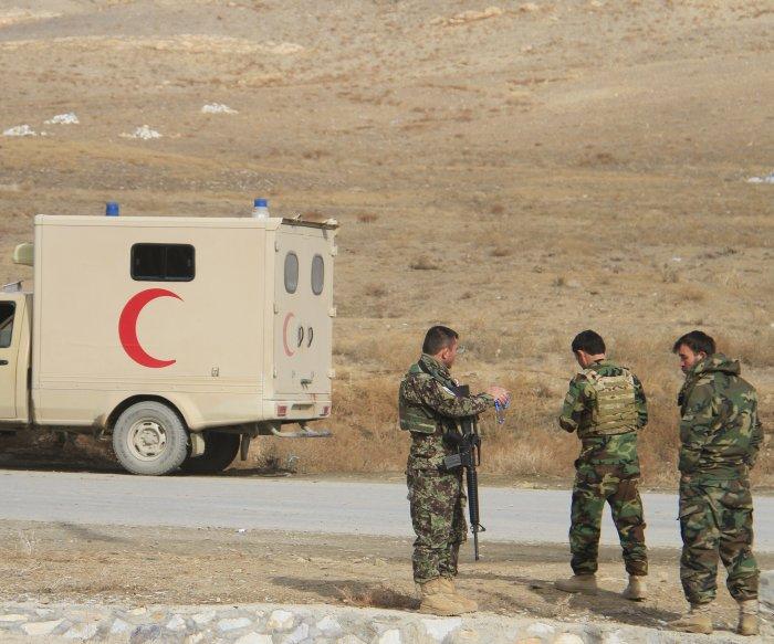 Dozens killed in pair of suicide bombings in Afghanistan