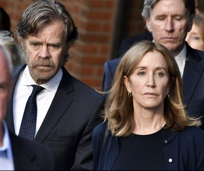 Felicity Huffman: White is the color of remorse