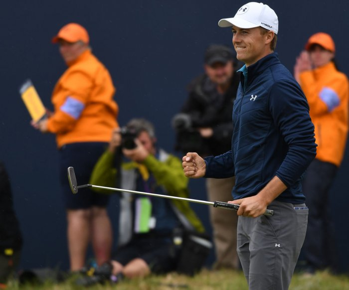 Jordan Spieth's gritty, late 5-hole run garners British Open title