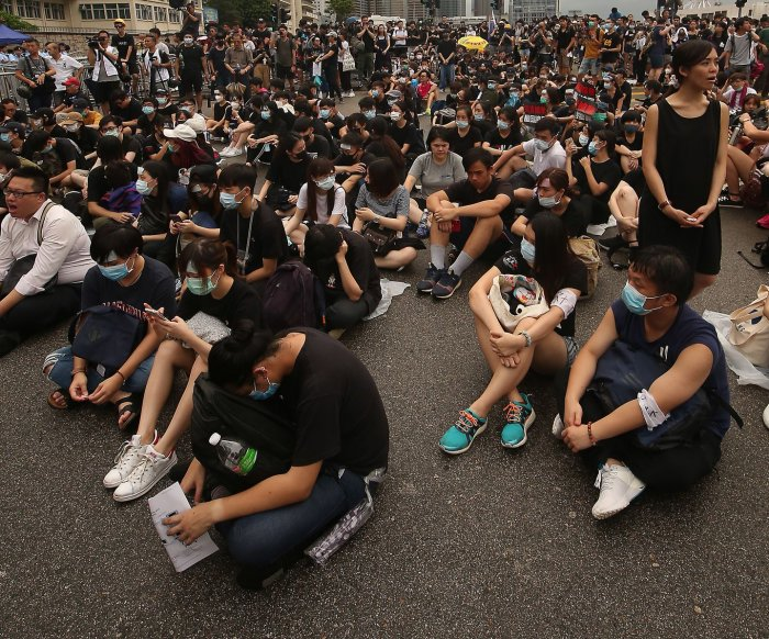 Hong Kong leader Carrie Lam apologizes after mass protests