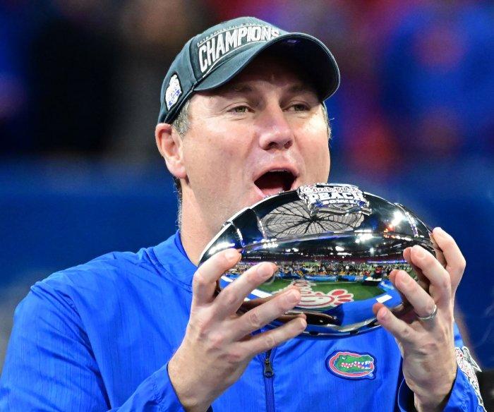 Florida coach Dan Mullen, Purdue coach Jeff Brohm test positive