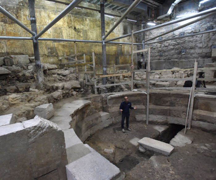 Jerusalem dig uncovers 200-seat Roman theater