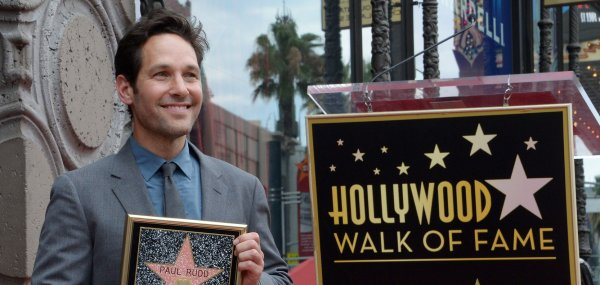 Paul Rudd gets Hollywood Walk of Fame star