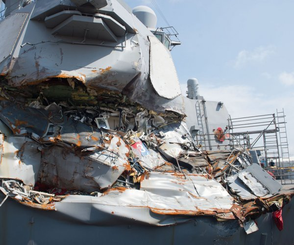 U.S. Navy commanders face charges for crashes that killed 17
