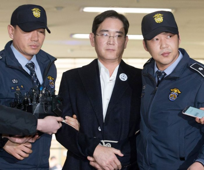 Activist groups oppose parole for jailed Samsung leader Lee Jae-yong