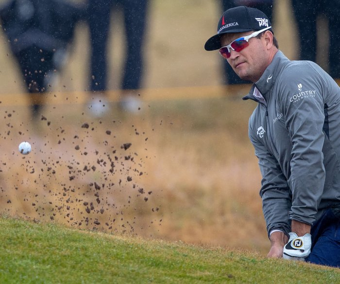 British Open: Zach Johnson, Kevin Kisner atop leaderboard