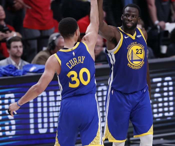 Warriors advance to 5th straight NBA Finals with Portland sweep