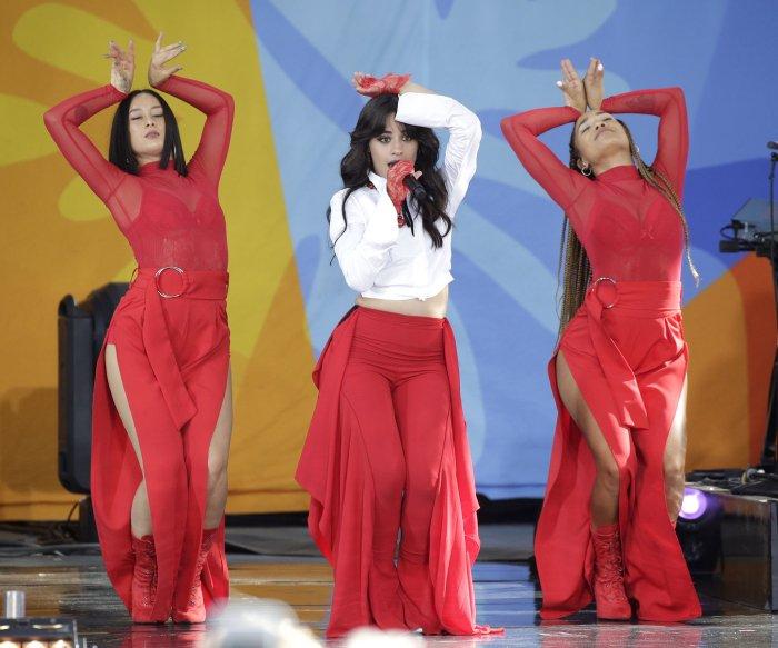 Camila Cabello performs on 'Good Morning America'