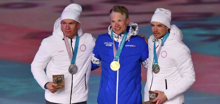 2018 Winter Olympics: Men's skiing medalists