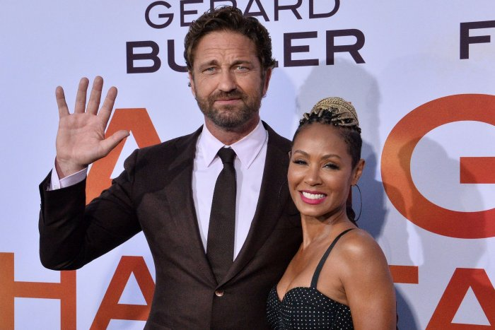Gerard Butler, Jada Pinkett Smith attend 'Angel Has Fallen' premiere