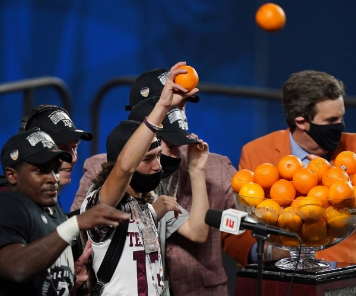 Texas A&M defeats North Carolina at Orange Bowl