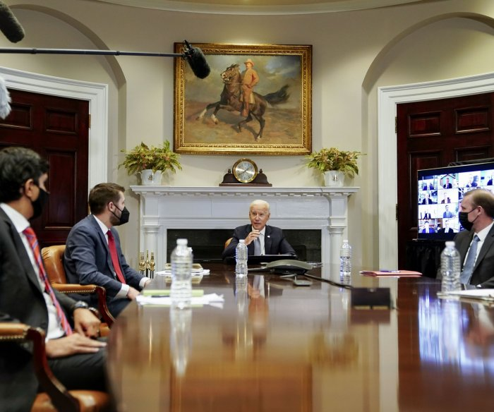 Biden: U.S. must 'step up our game' amid semiconductor shortage