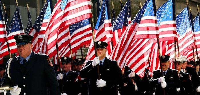Parade marks Veterans Day in New York