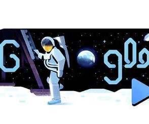 Google celebrates 50th anniversary of moon landing with new Doodle