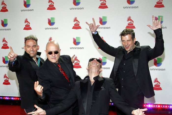 Moments from the Latin Grammy red carpet