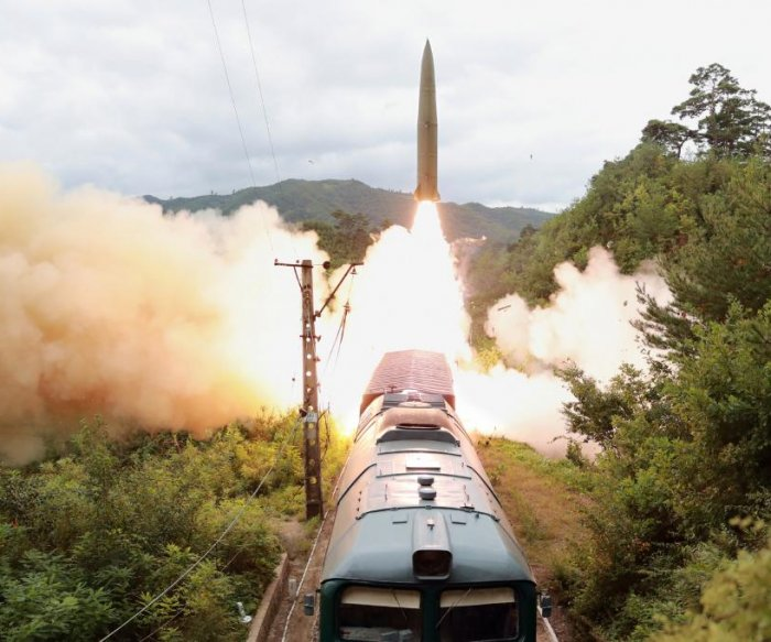 North and South Korea unveil new missile systems