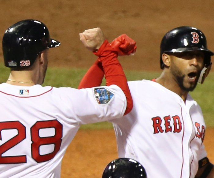 World Series: Red Sox hold off Dodgers in Game 1