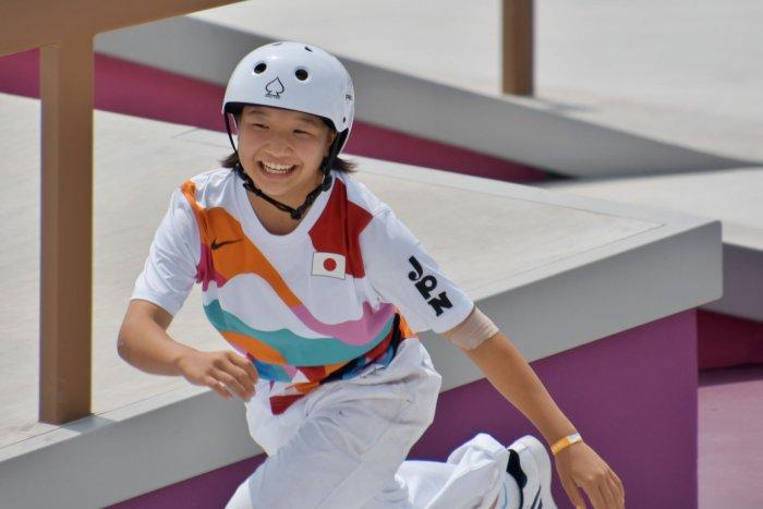 Tokyo Olympics: Moments from skateboarding