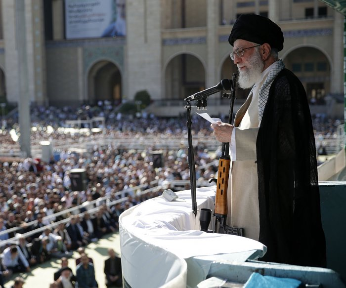 Iran leader Khamenei: Won't talk to U.S. without 2015 nuclear deal