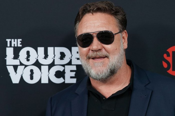 Russell Crowe, Sienna Miller attend 'The Loudest Voice' premiere