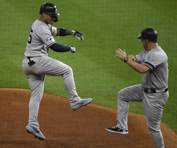 Yankees blank Astros, take 1-0 lead in ALCS