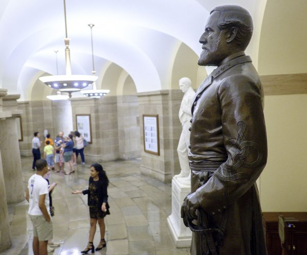 Confederate statues in Washington, D.C., drawing criticism