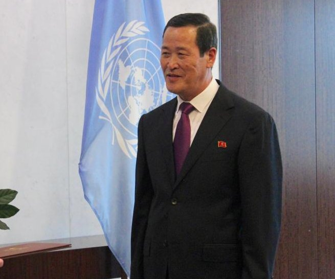 New N. Korea diplomat to 'work with U.N.' following summit with South