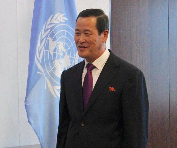 New North Korea ambassador to 'work with U.N.' following inter-Korea summit