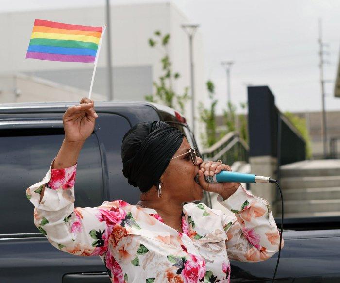 Pride caravans take place in NYC, St. Louis