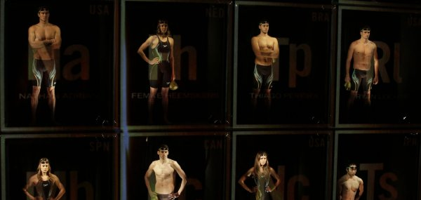 Speedo unveils swimsuit for Rio Olympics